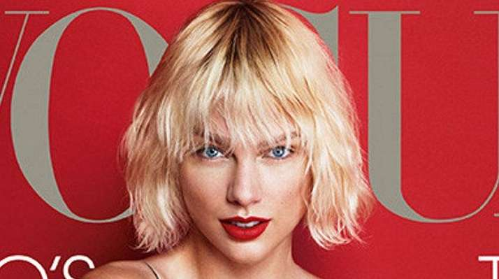 Taylor Swift is on the cover of the