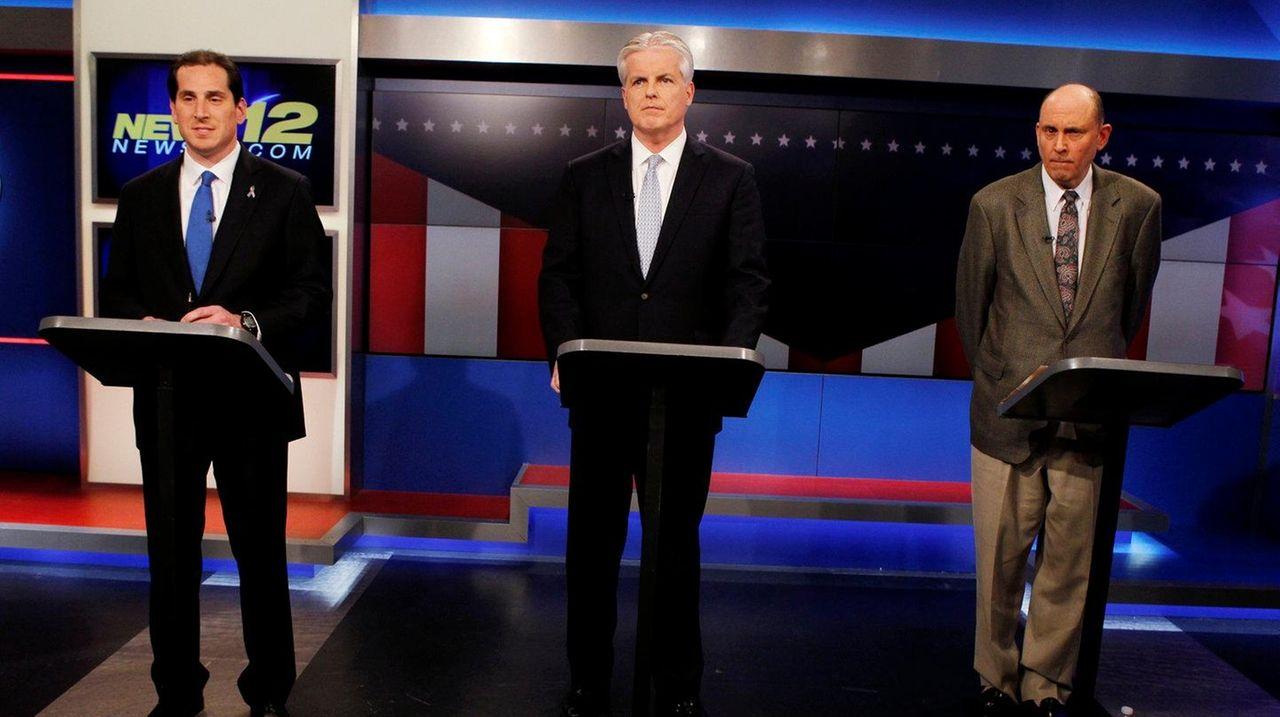 Ninth Senate District candidates Todd Kaminsky, democrat, Chris