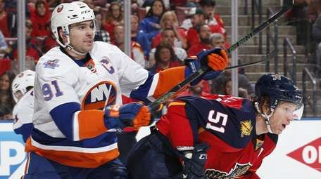 John Tavares of the New York Islanders and