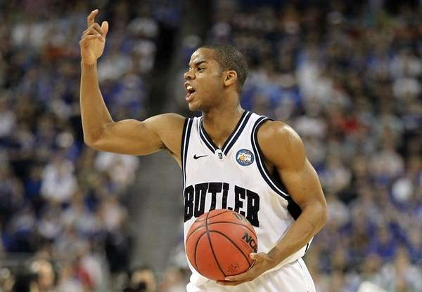 Ronald Nored #5 of the Butler Bulldogs