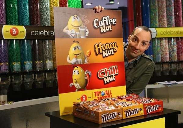 Actor Tony Hale partners with M&Ms to launch