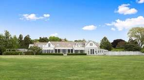This 5-acre Southampton estate on Heady Creek features