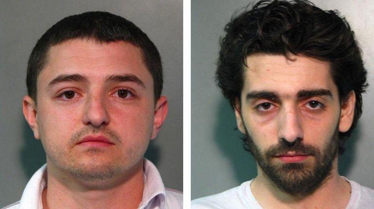 Vladimir Bychkov, 30, and Artyom Saribekyan, 28, were