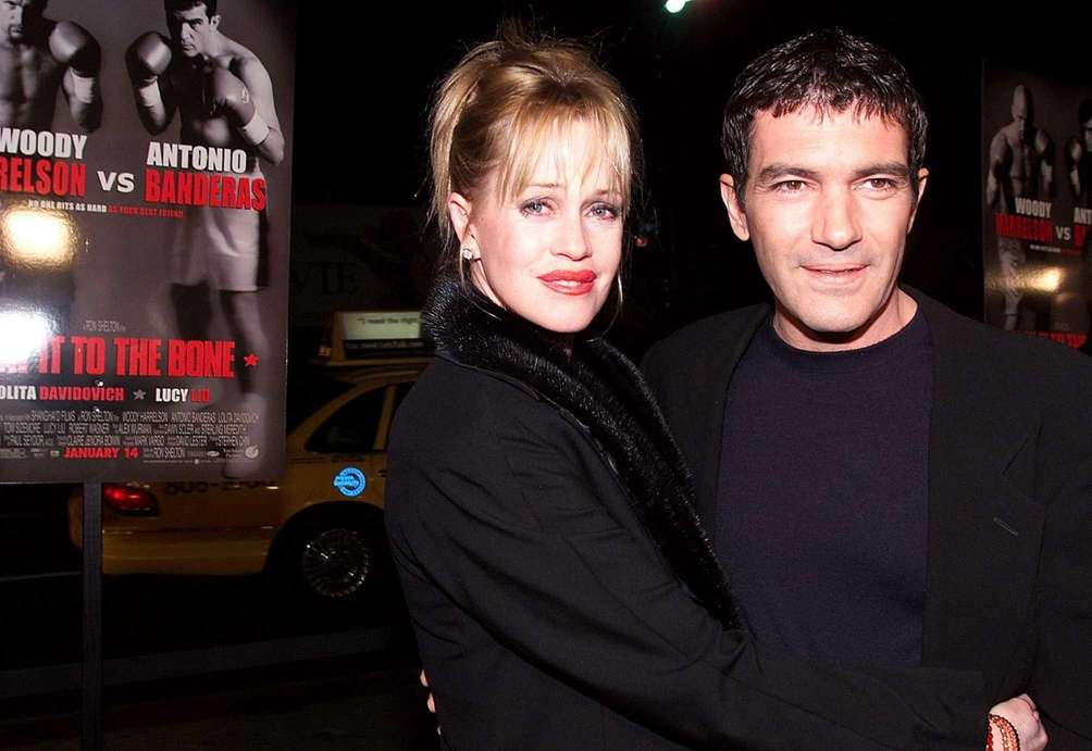 Melanie Griffith and Antonio Banderas were married for