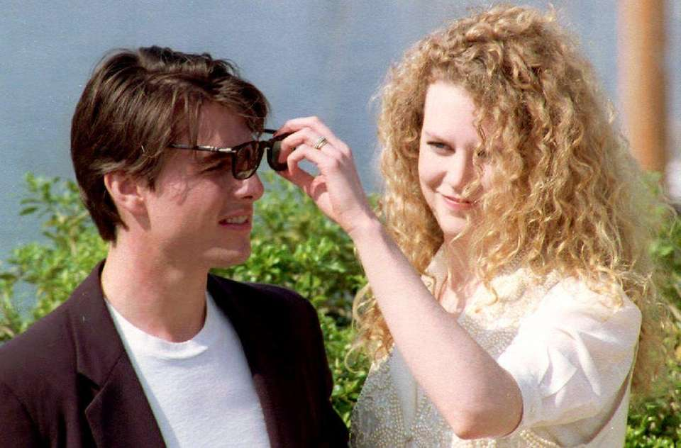 Tom Cruise and Nicole Kidman, who were married