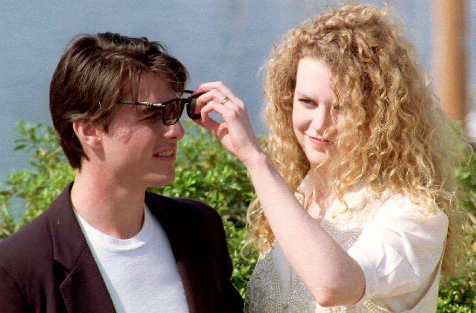 Tom Cruise and Nicole Kidman, who were married