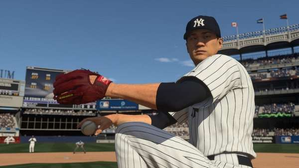 Yankees pitcher Masahiro Tanaka in MLB The Show