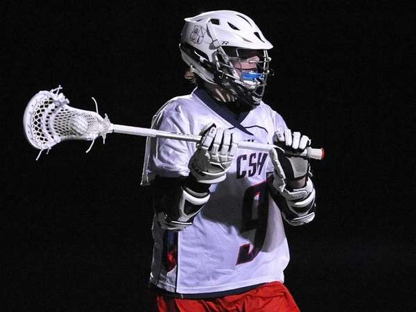 Colin Burke playing for Cold Spring Harbor High