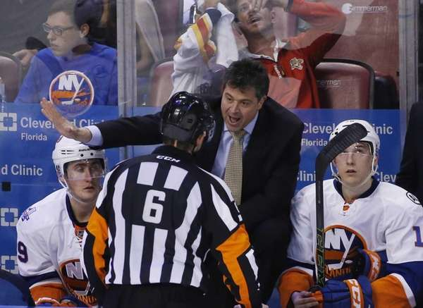New York Islanders head coach Jack Capuano talks