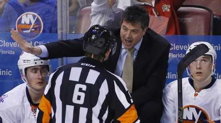 New York Islanders head coach Jack Capuano talks