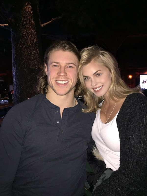 Islanders' Matt Martin and girlfriend Sydney Esiason, daughter