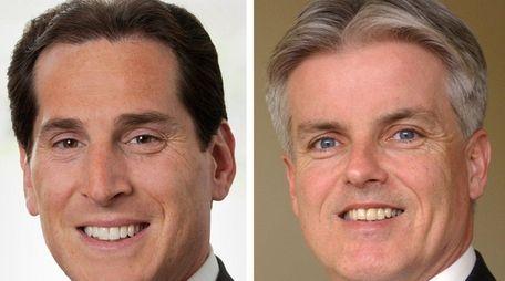 Assemb. Todd Kaminsky (D-Long Beach) and Christopher McGrath