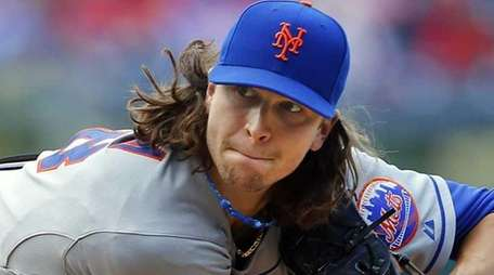 Jacob deGrom on May 31, 2014