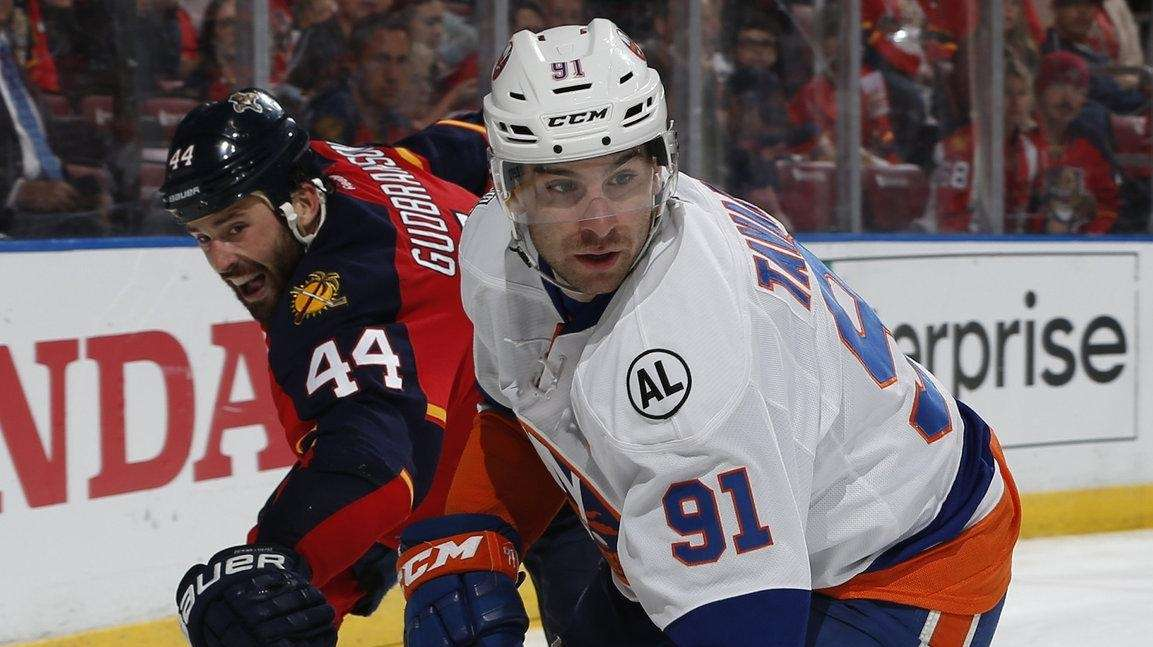 Erik Gudbranson #44 of the Florida Panthers chases