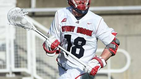 Stony Brook's Brody Eastwood had five goals Saturday