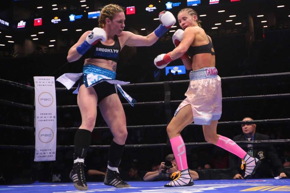 Heather Hardy of Brooklyn defeated Anna Hultin by