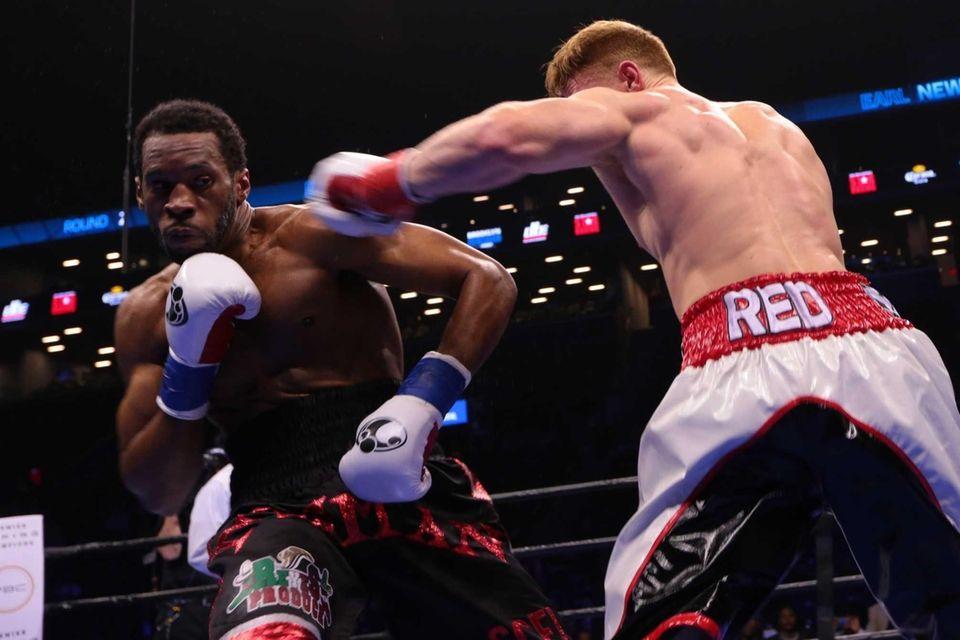 Earl Newman of Brooklyn defeated Dustin Craig Echard