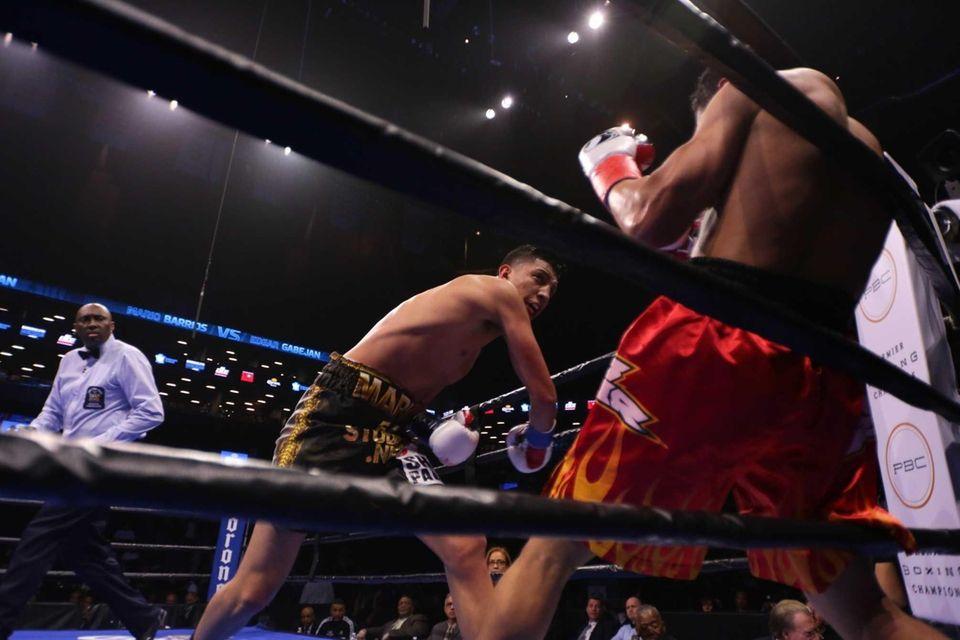 Mario Barrios defeated Edgar Gabejan by unanimous decision