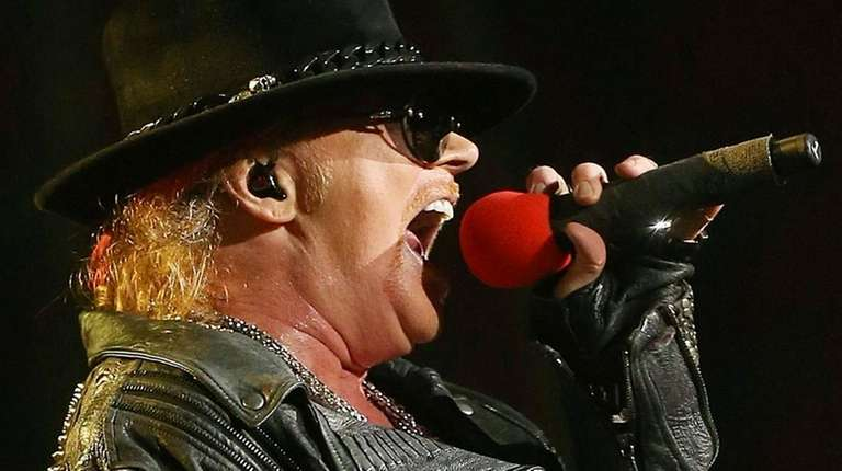 Axl Rose will do double duty this year,