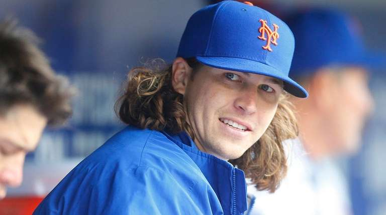 New York Mets starting pitcher Jacob deGrom