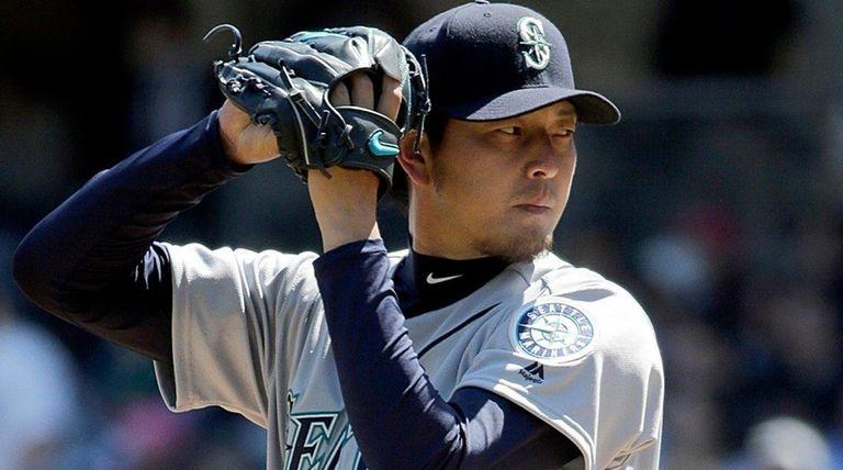 Seattle Mariners' Hisashi Iwakuma was the losing pitcher