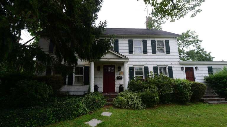 The historic house at 527 Deer Park Ave.,