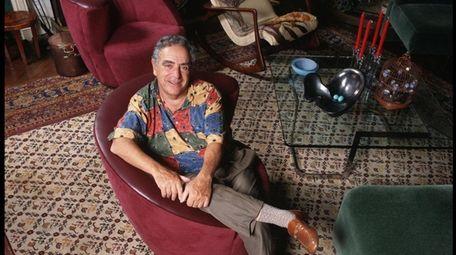 Furniture designer Vladimir Kagan is seen in his