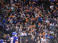 New York Islanders fans wave rally towels against