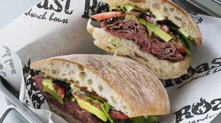 The popular Melville lunch spot, Roast Sandwich House,