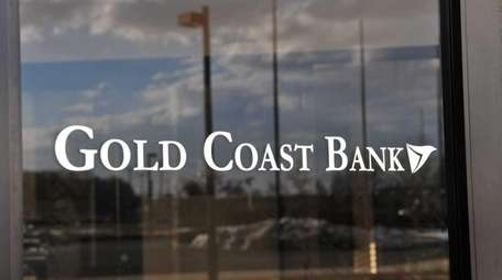Gold Coast Bank said it earned 14 cents