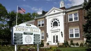 North Hempstead Town Hall is seen in this