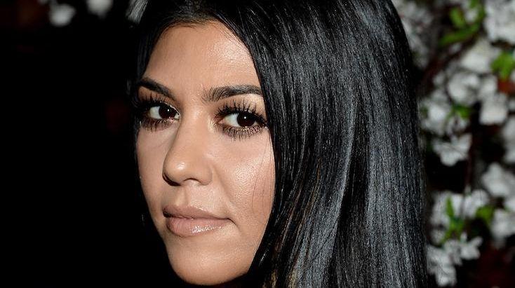 TV personality Kourtney Kardashian attends the alice +