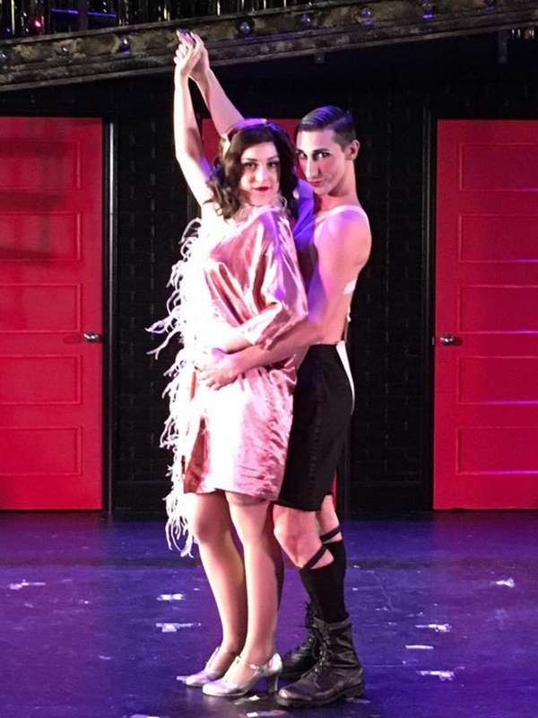 Katie Ferretti as Sally Bowles and Robbie Torres