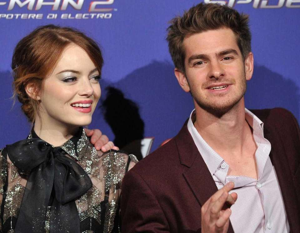Emma Stone and Andrew Garfield split up after