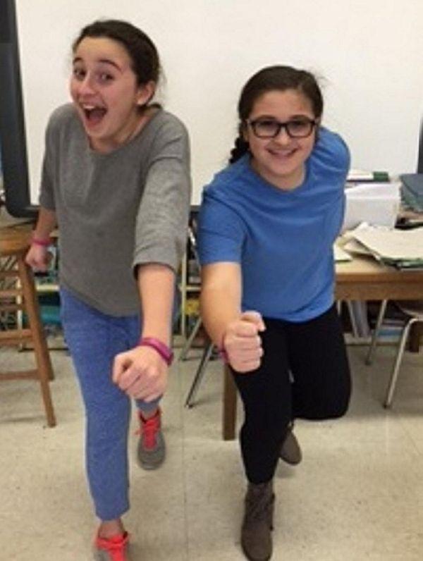 Kidsday reporters Tyler Mazzella and Sofia Legovich show