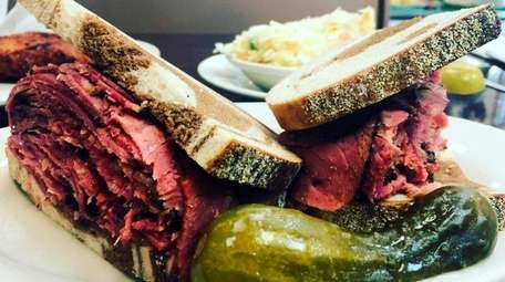 The pastrami sandwich sells for $10.99 at Pastrami