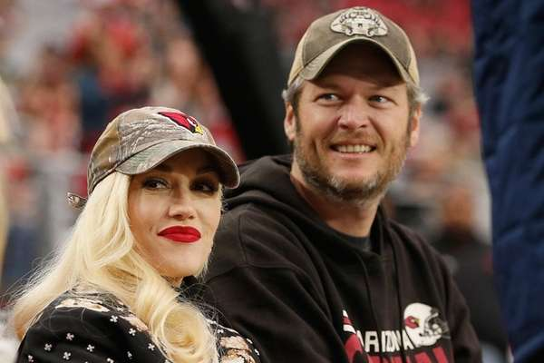 Gwen Stefani tweeted that Blake Shelton's upcoming album