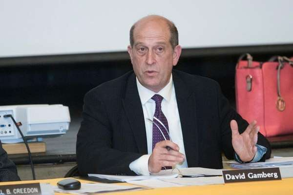 David Gamberg, superintendent of Greenport and Southold schools,