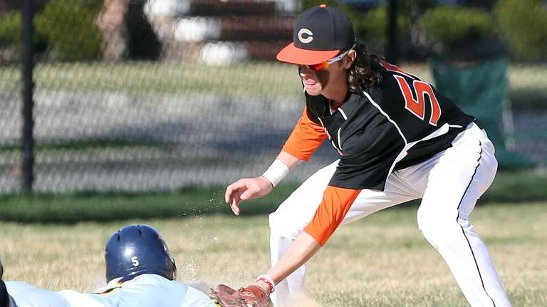 Carey's Shane Pinto puts the tag on Jericho's