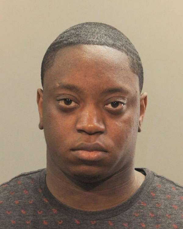 Keon I. Carter, 21, of Amityville, was arrested