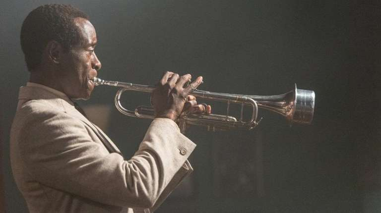 Don Cheadle stars as jazz trumpeter Miles Davis