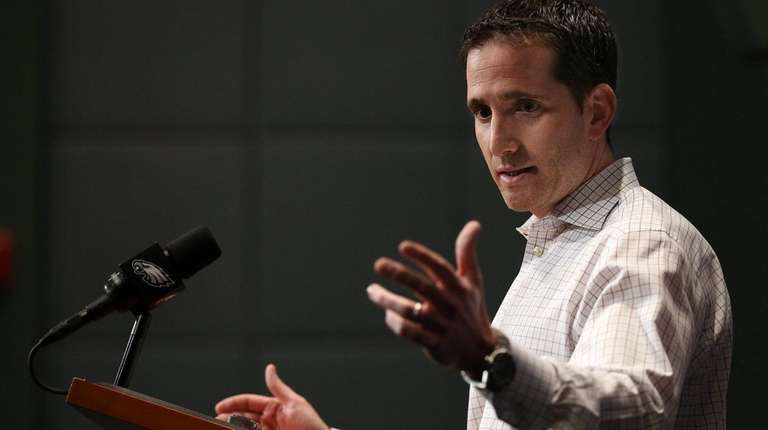 Howie Roseman, Eagles executive vice president of