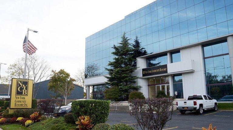 New York Community Bank headquarters in Westbury, October