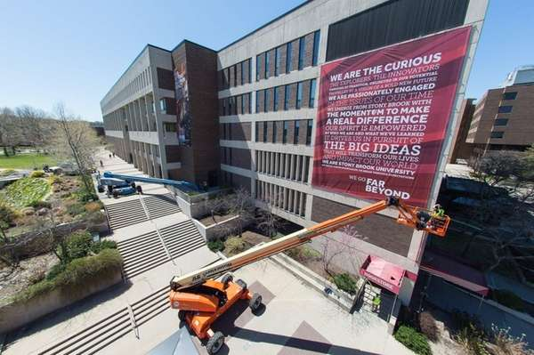 Stony Brook University launched the school's