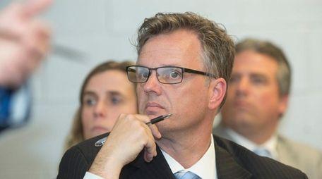 Leonard Skuggevik, for the Shelter Island's school superintendent,