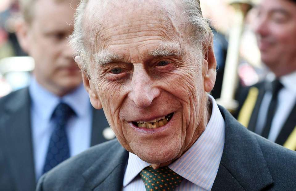Britain's Prince Philip, the Duke of Edinburgh, is