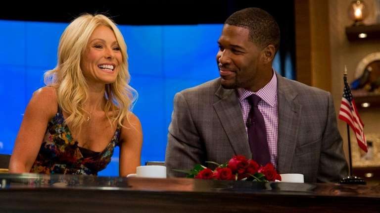 Michael Strahan told Kelly Ripa on Tuesday after