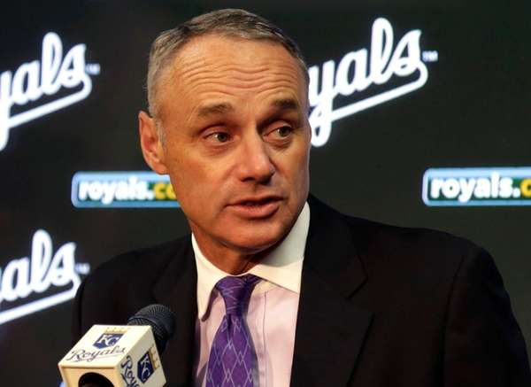 Major League Baseball commissioner Rob Manfred said the