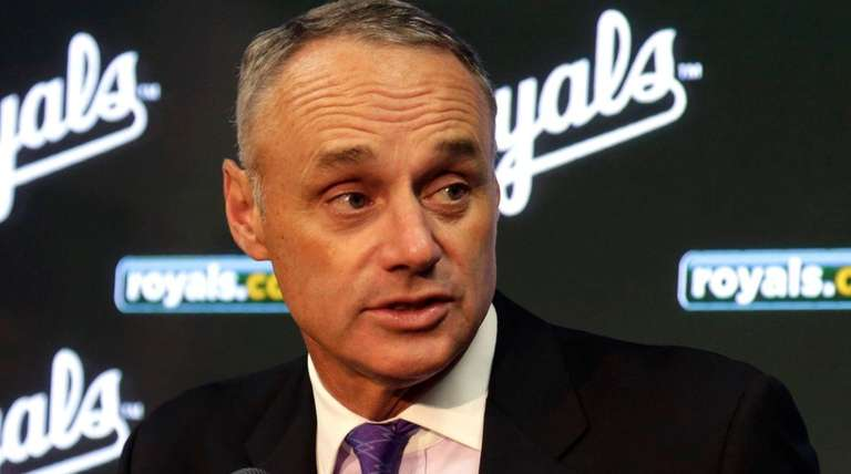 Major League Baseball commissioner Rob Manfred said the