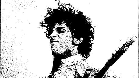 Prince performs at the Nassau Coliseum on March